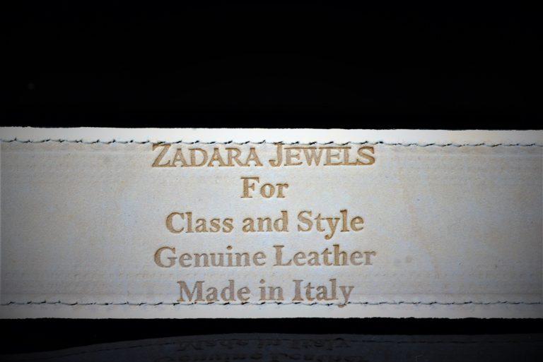 Gold bright hued leather belt zadara jewels