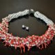 Coral and pearl couture necklace zadara jewels