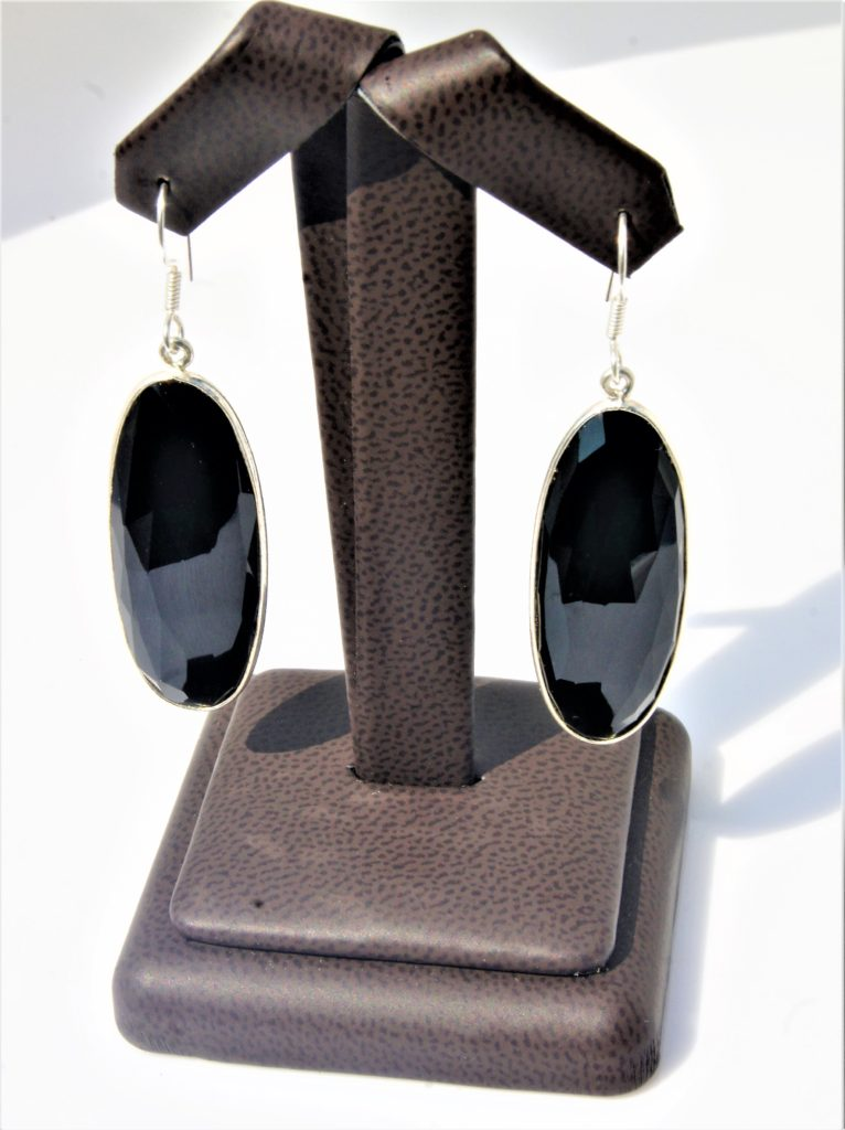 Black-Onyx drop earrings zadara jewels