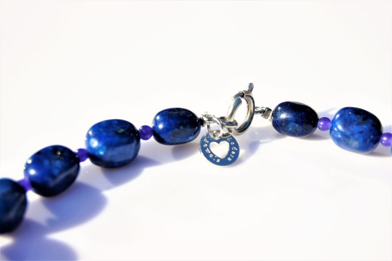 Chunky Sodalite necklace zadara jewels