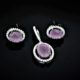Duo rose-quartz set zadara jewels