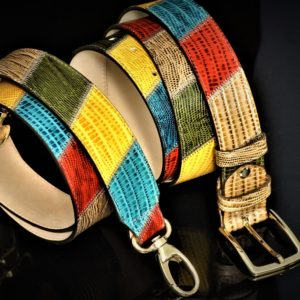 Gold bright hued patchwork set zadara jewels