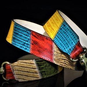 Gold bright hued patchwork strap zadara jewels