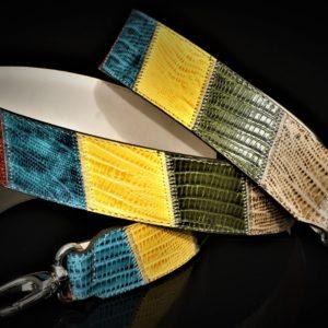 Silver bright hued patchwork strap zadara jewels