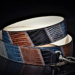 Silver warm hued patchwork strap zadara jewels