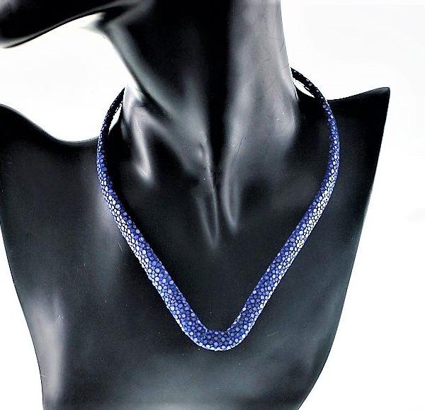 Stingray choker in blue zadara jewels