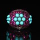 1981 Turquoise zirconia ring zadara jewels