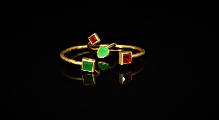 Gripoix glass set zadara jewels