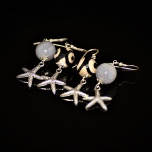 Agate starfish earring set zadara jewels