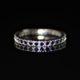 Single mini black ring zadara jewels